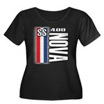 Nova 400 Women's Plus Size Scoop Neck Dark T-Shirt