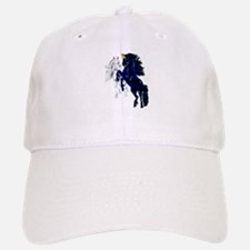 Two Unicorn Stallions Baseball Baseball Cap