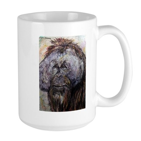 Wildlife, Orangutan, Large Mug