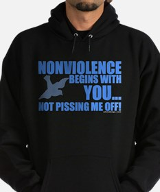 Nonviolence Begins with You... Hoodie