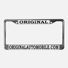 Cute Tuners License Plate Frame