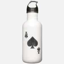 The Ace of Spades Sports Water Bottle