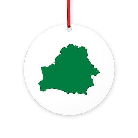 Belarus Ornament (Round)