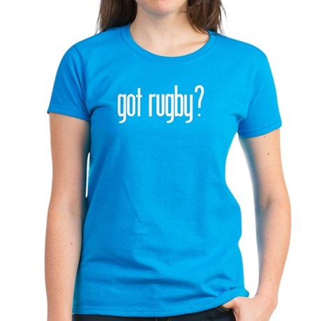 got rugby? Women's Dark T-Shirt