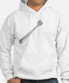 Stick a fork in me. I'm done. Hoodie