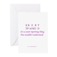 Certified - Greeting Cards (Pk of 10)