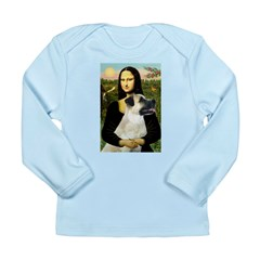 MonaLisa-AnatolianShep2 Long Sleeve Infant T-Shirt