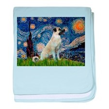 Starry-AnatolianShep 2 baby blanket