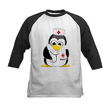 Nurse Scarf Penguin Tee