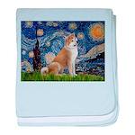 Starry - Akita3 baby blanket