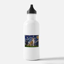 Starry - Akita3 Water Bottle