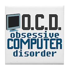 Funny Computer Tile Coaster
