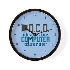 Funny Computer Wall Clock