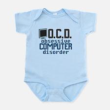 Funny Computer Infant Bodysuit