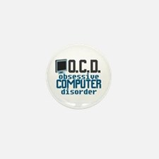 Funny Computer Mini Button (10 pack)