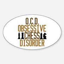 Funny Chess Addict Decal