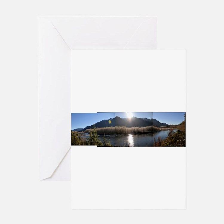 Cute Lake quinault Greeting Card