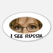 I See RUSSIA Sticker (Oval)