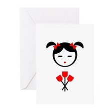 Flower Girl Greeting Cards (Pk of 10)