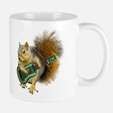 Squirrel Ukulele Mug