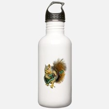 Squirrel Ukulele Water Bottle