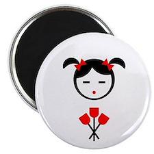 """Flower Girl 2.25"""" Magnet (10 pack)"""