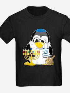 Hanukkah Scarf Penguin T