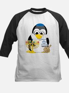Hanukkah Scarf Penguin Tee