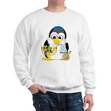 Hanukkah Scarf Penguin Jumper