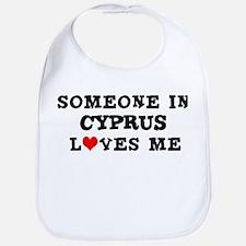 Someone in Cyprus Bib