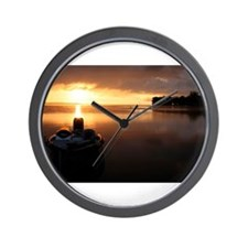 Sunrise Bass Wall Clock