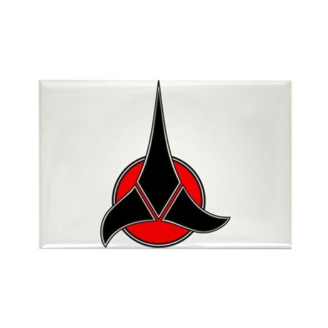 Klingon Symbol Rectangle Magnet