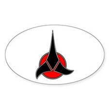 Klingon Symbol Decal