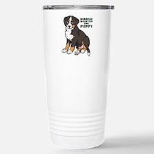 Sitting Bernese Mountain Dog Travel Mug