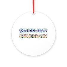 Rhodesian Ridgeback Ornament (Round)