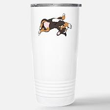 Sleeping Bernese Mountain Dog Travel Mug