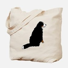 Sitting Bernese Mountain Dog Tote Bag