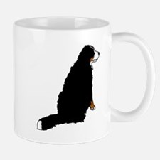 Sitting Bernese Mountain Dog Mug