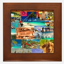 Unique Anguilla Framed Tile