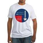 Census 2011 Fitted T-Shirt