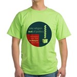 Census 2011 Green T-Shirt