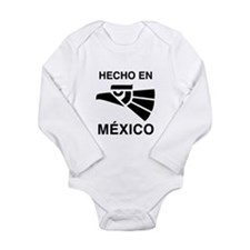 Hecho en Mexico Long Sleeve Infant Bodysuit