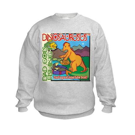Innertube Boat Kids Sweatshirt