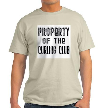 Property of the Curling Club Ash Grey T-Shirt