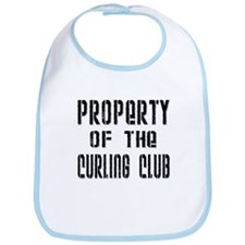 Property of the Curling Club Bib
