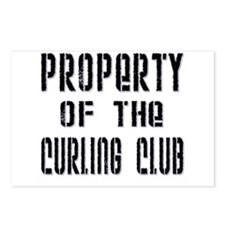 Property of the Curling Club Postcards (Package of