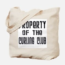 Property of the Curling Club Tote Bag