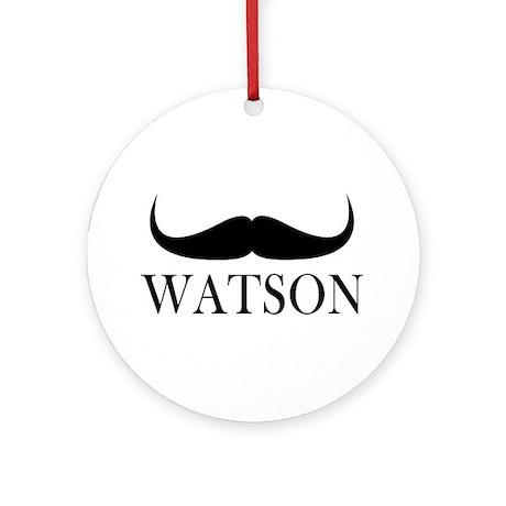 Watson Ornament (Round)