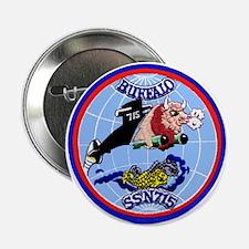 """USS Buffalo SSN 715 2.25"""" Button"""