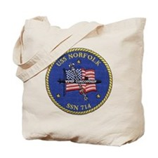 USS Norfolk SSN 714 Tote Bag